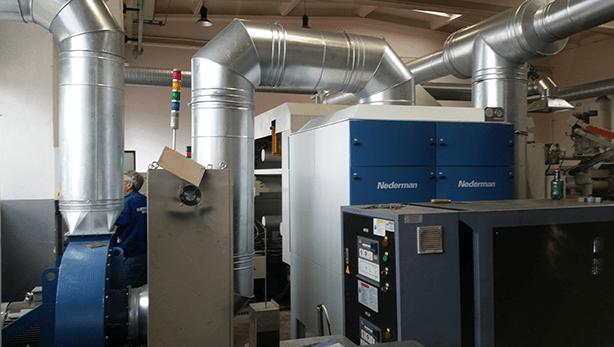 Sisteme de filtrare industrială a aerului