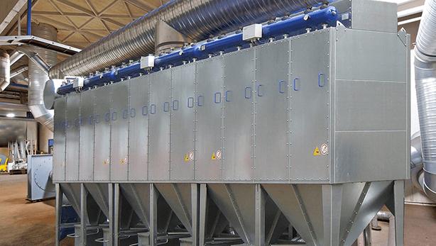 Sisteme de ventilație industriale și de exhaustare