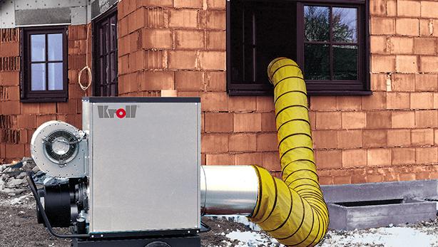 Sisteme mobile – generatoare de aer cald sau rece